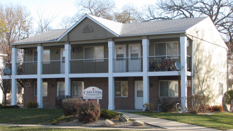 Apartments for Rent, Carleton Apartments, Mason City, Iowa