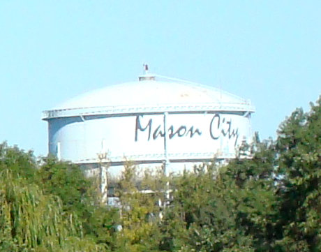 Mason City Water Tower - Mr. Toot